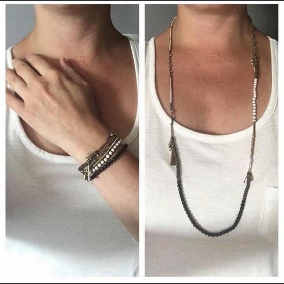 Stella dot necklace or bracelet